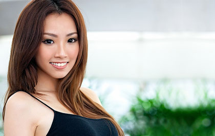 pretty thai woman